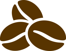 Coffee beans icon - Caronte Consulting
